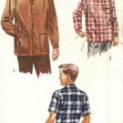 Fifties Vintage Sewing Pattern Boy's Lumberjack Shirt or Jacket Simplicity 4100 Size 6