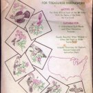 Vintage Aunt Martha's Transfer for Needlework Statebirds Quilt
