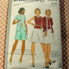 70s Knit Dress vintage sewing pattern Butterick 3080