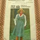 70s jumper vintage sewing pattern Butterick 4602