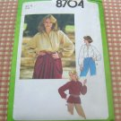 70s tunic shirt vintage sewing pattern Simplicity 8704