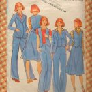 Skirt Vest Pants Butterick 4660 Vintage Sewing Pattern