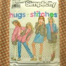Girls Skirt, Pants, Shorts, Vest  Sewing Pattern Simplicity 9805