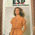 70s Dress Vintage Sewing Pattern Simplicity 9058