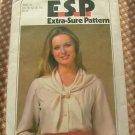 70s Blouse Vintage Sewing Pattern Simplicity 8468