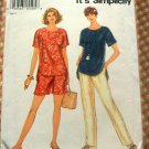 90s Top and Pants Vintage Sewing Pattern Simplicity 9032