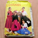McCall's P383 Girls  Poodle Skirt Sewing Pattern
