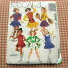 Girls Skating  Majorette Costumes McCall's 4342 Sewing Pattern