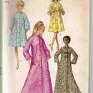 "Misses Robe Vintage Sewing Pattern Simplicity 9074 34"" Bust"