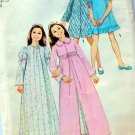 Robe and Nightgown Vintage Sewing Pattern Simplicity 5339