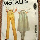 Skirt & Pants McCall's 6304 Vintage 70s Sewing Pattern