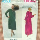 Vintage 70s Maxi Dress sewing pattern Vogue 1724 Jean Muir