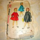 Girls  Coat & Beret 50s vintage sewing pattern Simplicity 4576 size 4