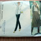Vintage Vogue Sewing Pattern 1954  Blouse Culottes Christian Aujard