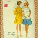 Mod 1960s Dress Vintage Sewing Pattern Butterick 5198