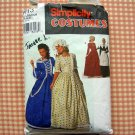 Colonial Pilgrim Costume Simplicity Sewing Pattern 9713