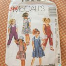 McCalls 4770 Girls Jumpsuit, Romper or Sundress Vintage Sewing Pattern