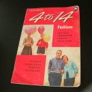 Vintage Knitting and Crochet Booklet 4 to 14 Fashions sweaters