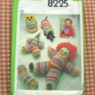 Vintage Simplicity 8225 Doll Craft Pattern YoYo Toys