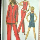 Seventies Jumpsuit Vintage Sewing Pattern Simplicity 9319
