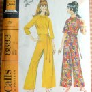 Misses Jumpsuit Vintage Sewing Pattern McCalls 8883
