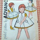 Toddler Pinafores Vintage Sewing Pattern Advance 9562