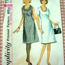 Misses Dress Vintage Sewing Pattern Simplicity 5915