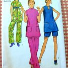 Misses Maternity Top, Shorts and Pants Vintage Sewing Pattern Simplicity 9445