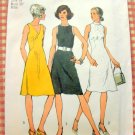 Vintage 70s Dress Simplicity 9968 Sewing Pattern