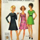 Vintage Sewing Pattern Dress Simplicity 8887