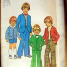 Boys Suspenders, Pants, Jacket  Vintage Sewing Pattern Simplicity 7204