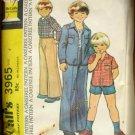 Boys  Pants, Jacket  Vintage Sewing Pattern McCall's 3965