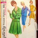 Vintage Sewing Pattern Skirt and Shirt Simplicity 5662
