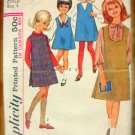 Girl's Jumper Vintage Sewing Pattern Simplicity 6068 Size 4