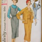 Womans Dress Vintage Sewing Pattern Simplicity 2189
