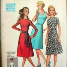 Petite Dress Vintage Sewing Pattern Simplicity 9465