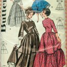 Square Dance Dress and Pioneer Costume Vintage Sewing Pattern Butterick 9584