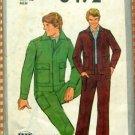 Mens Pants, Jacket Vintage Sewing Pattern Simplicity 8492