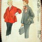 Fifties Swing Jacket Vintage Sewing Pattern McCalls 9931