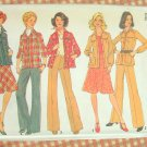 Misses Shirt Jacket, Skirt and Pants Vintage Sewing Pattern Simplicity 7096