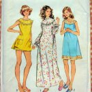 Misses Nightgown and Bloomers Vintage Pattern Simplicity 5030