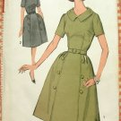 Misses Mad Men Style Dress Vintage Sewing Pattern Advance 3020
