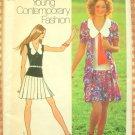Mini Dress and Cardigan Vintage Pattern Simplicity 9914