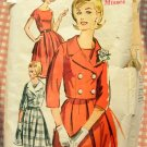 Misses 60s Dress Vintage Sewing Pattern Advance 2864