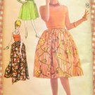 Misses 60s Evening Wear Vintage Sewing Pattern Advance 3172