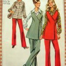 Wrap Tunic, Blouse and Pants Vintage Pattern Simplicity 9581
