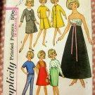 Tammy Doll Wardrobe Vintage Pattern Simplicity 6244
