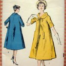 Misses 50s Trapeze Dress Vintage Sewing Pattern Advance 8750