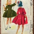 Girl's Petticoat Dress Vintage 50s Sewing Pattern McCall's 5574