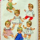 Betsy Wetsy Baby Doll Wardrobe Vintage Sewing Pattern Simplicity 7970